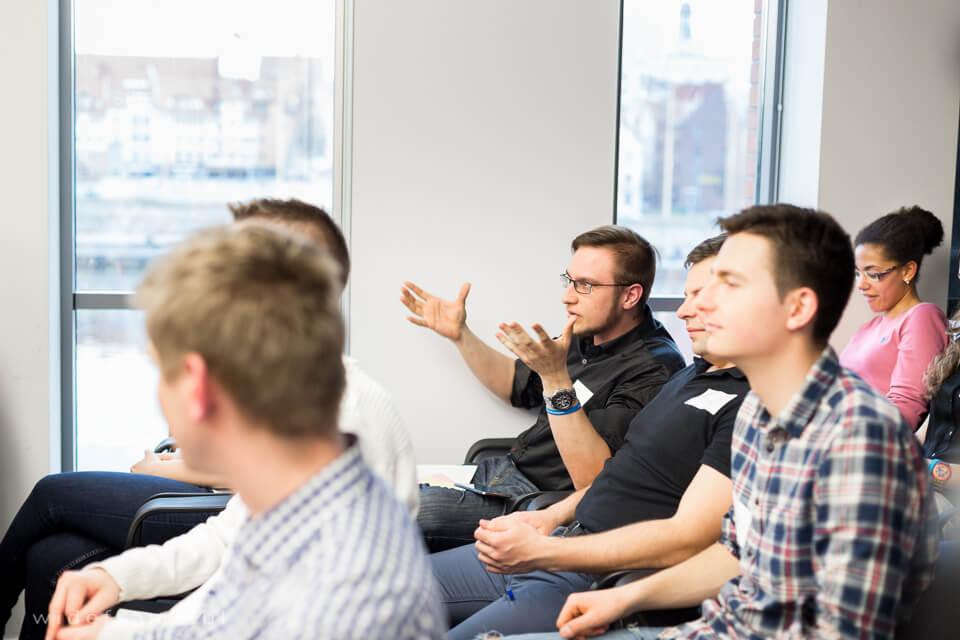 Informacja zwrotna od uczestników to duża wartość dla każdego z mówców